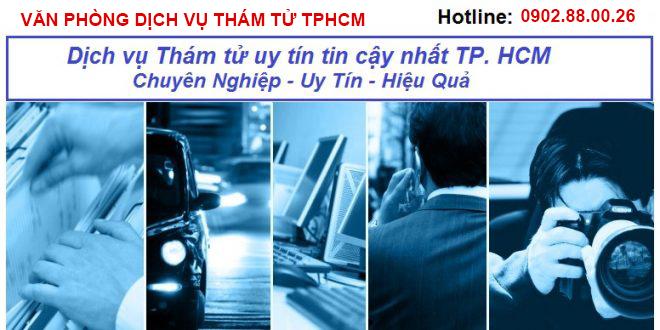 văn phòng dịch vụ thám tử tphcm
